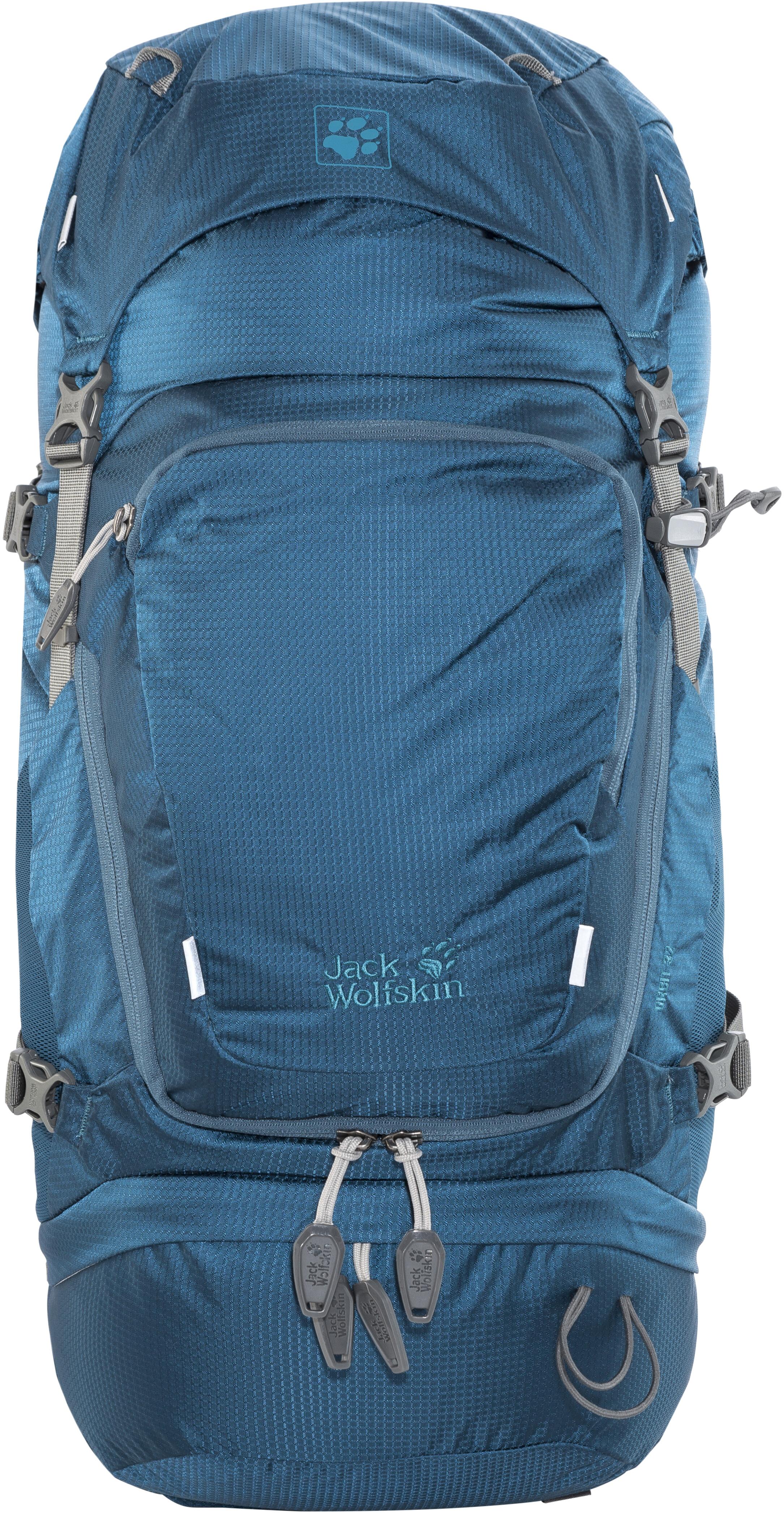 Jack Wolfskin Orbit 32 Backpack Women Teal At Jake Fleece Combie Blue Grey
